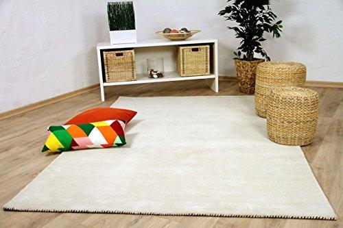 Natur Teppich Indo Gabbeh Ella Creme in 8 Größen