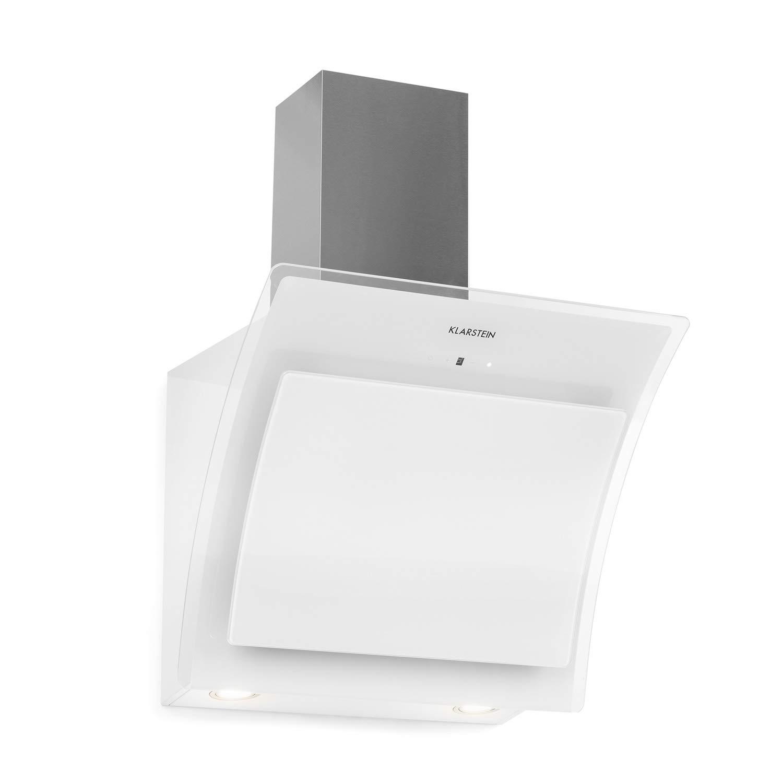 f19c3130e48 Klarstein Sabia 60 • Campana extractora • Extractor de humos de pared •  Vidrio de seguridad • Absorción y circulación de aire • 3 niveles • 600  m³/h ...