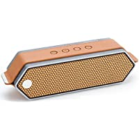 16 Watts Aluminum Portable Hi-Fi Speaker with aptX 4.0 Bluetooth, Hands Free Calling, 16 Hours Playtime by Dreamwave Audio - HARMONY I