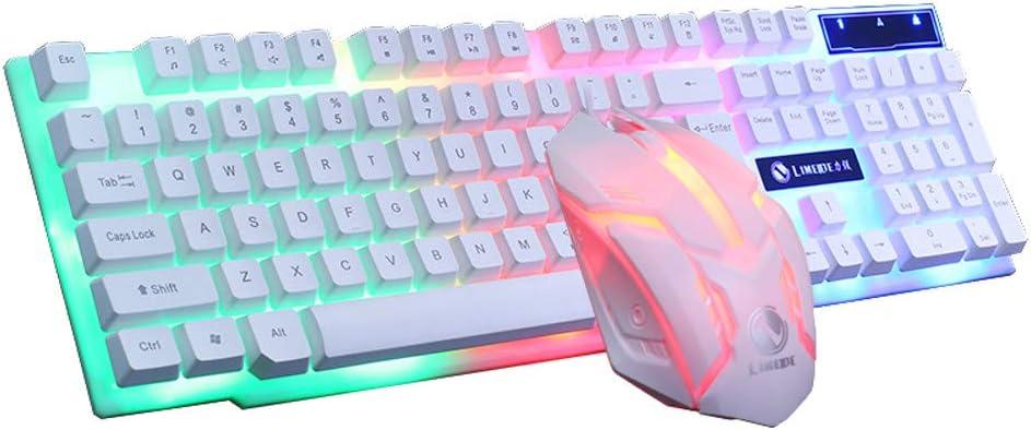Blue Axis 104 Key USB Wired Gaming Keyboard RGB 16.8 Million LED Lighting Backlit Pad Keyboard for Working Or Gaming,Black WANGJIANGLI Mechanical Keyboard