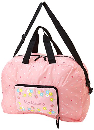 my-melody-folding-boston-bag-heart-dot