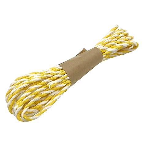 10 metros de cuerda de papel resistente etiquetas de corbata ...