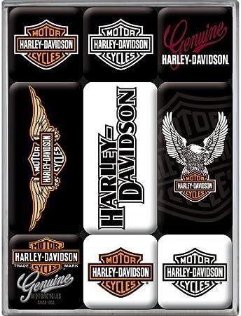 Harley-Davidson Motor Ciclos logo en negro. Auténtico Motocicletas ...