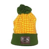 Cirque Mountain Apparel Iowa Beanie, Green/Yellow/Orange, One Size