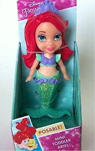 Disney Princess My First Mini Toddler Mermaid Ariel Poseable ()