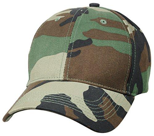 Rothco Low Profile Cap, Woodland Camo