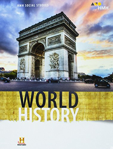 HMH Social Studies World History: Student Edition 2018