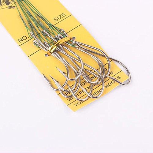 Wire Snelled Hooks - 4