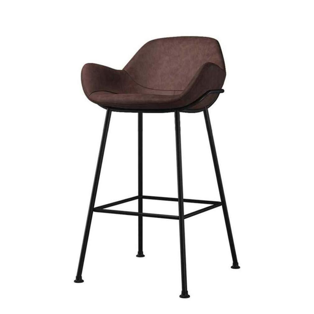 Qi Tai Poltrone e sedie Bar Stool con Schienale e braccioli