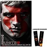 "The Hunger Games: Mockingjay Part 2 (2015) - Peeta Face - Movie Poster Reprint 13"" x 19"" Borderless + Laminated bookmark"