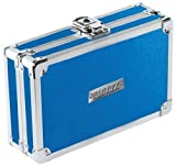 Vaultz Locking Pencil Box, 8.25 x 5.5 x 2.5 Inches, Blue (VZ01259)