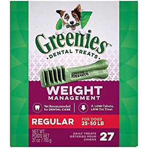 GREENIES Weight Management Dental Dog Treats