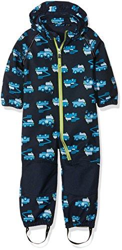 NAME IT Jungen Schneeanzug Nitalfa M Softsh Suit Aop B FO 316, Mehrfarbig (Dress Blues), 98