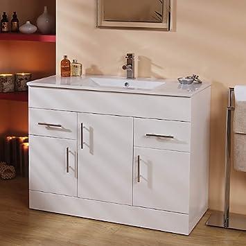 vanity unit basin with cabinet white 4 vanity units
