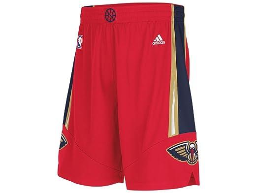 Amazon.com: New Orleans Pelicans Adidas Red Alternate Swingman ...