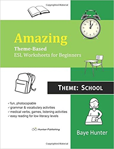 Amazon.com: Amazing Theme-Based ESL Worksheets for Beginners ...