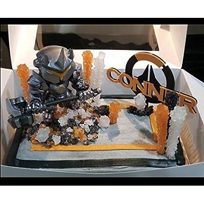 Overwatch Symbol Personalized Cake Topper: Handmade