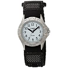 Timex Kids T79051 My First Timex Outdoors Watch with Black Fast Wrap Velcro Strap