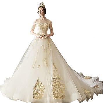 Caim Kleider Frauen Hochzeitskleid Hochzeitskleid Kleine Retro Satin