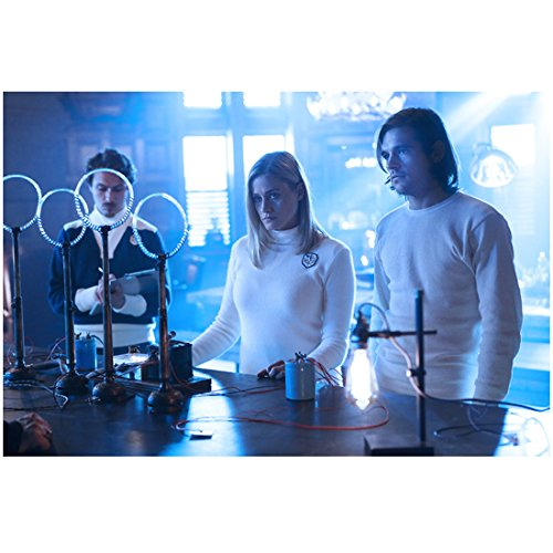 The Magicians Olivia Taylor Dudley as Alice with Jason Ralph as Quentin in lab 8 x 10 Inch Photo