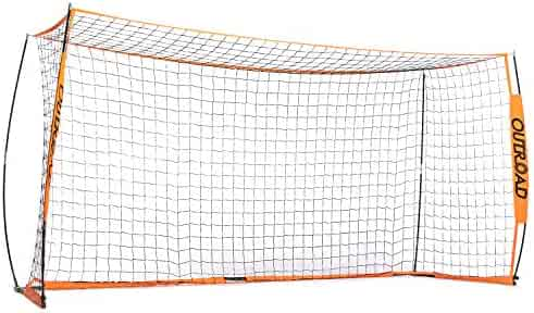be644d0b0 Outroad Portable 6x4 ft 12x6 ft Soccer Goal for Backyard - Practice Bow  Style Soccer Net