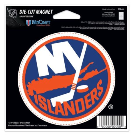 WinCraft NHL New York Islanders Color 4.5 x 6 Die Cut Sheet Magnet