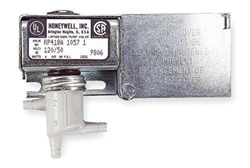 Pneumatic Relay - Honeywell, Inc. RP418A1057 Electric/Pneumatic Relay, Surface Mount, 120 Vac