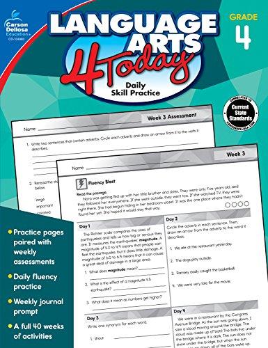 4th Grade Literacy - Language Arts 4 Today, Grade 4