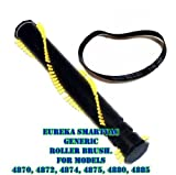 vac belts eureka - Eureka SmartVac Roller Brush and R Belt Kit For Models 4870AT, 4870ATV, 4870BT, 4870DT,4870 GZ, 4870HZ, 4870K, 4870MZ, 4870PZ, 4870RZ, 4870SZX, 4870T, 4870UZ, 4872AT, 4872BT, 4874AT, 4875A, 4880AT, 4880BT, 4885AT AND 4885BT