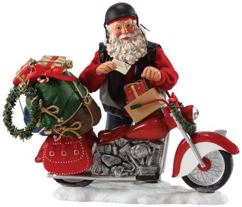 Department 56 Possible Dreams Holiday Ornaments Santa, 10 inch Possible Dreams Sleigh