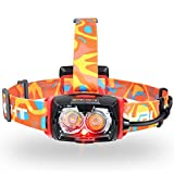 LED Headlamp, BYBLIGHT Headlamp Flashlight for Camping, Hiking, Running & Reading, Waterproof (dimmable)