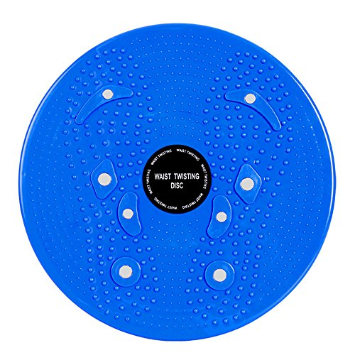 Waist Twisting Disc Figure Trimmer Fitness Board-(Blue) - 8