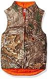 Carhartt Big Boys' Reversible Vest, Dark Brown Print, Large (14/16)