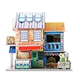 3D Puzzle Handmade Assemble toys for kids Hotel Flower Shop