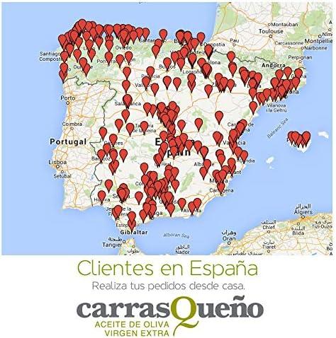 Caja 3 Garrafas 5 litros Carrasqueño Aceite de Oliva Virgen Extra - Garrafa 5L AOVE: Amazon.es: Alimentación y bebidas
