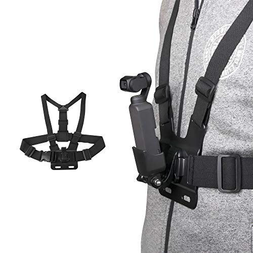 Jesykin Gimbal Camera Chest Band Strap Belt for DJI OSMO Pocket/GoPro