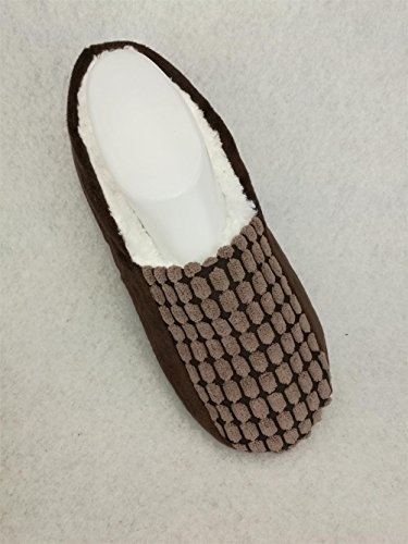 Indoor Mens Shoes Autumn Brown Non skid Slippers Floor Socks Winter HGTYM730 RrRqYwE