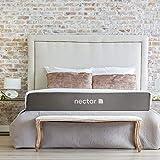 Nectar Colchón King Size + 2 Almohadas Premium - Memory Foam - 30 Noches De Prueba En Tu Casa - Garantía De por Vida