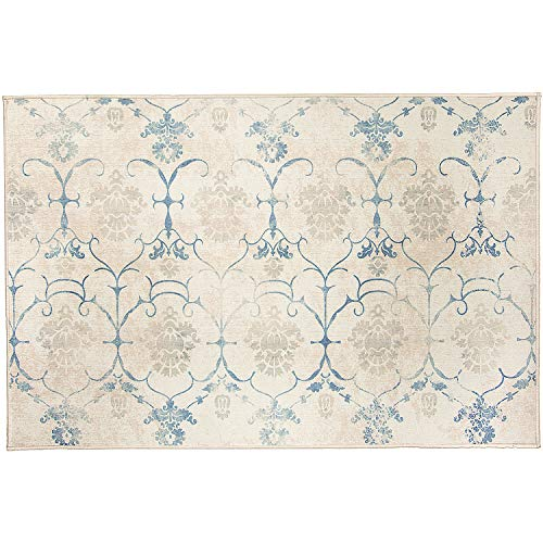 RUGGABLE Washable Stain Resistant Indoor/Outdoor, Kids, Pets, and Dog Friendly Accent Rug, 3