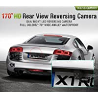 XTRONS Car Rear View Reversing Backup Parking Camera 170° LED White Light