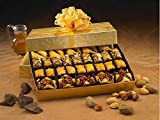 Sinbad Baklava Assortment, Mediterranean Dessert, 38 mini pieces