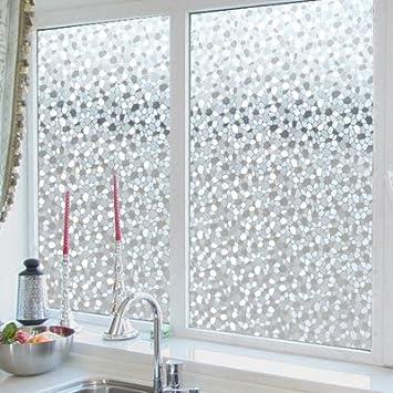 XI.W.H Glas Folie Badezimmer Fensteraufkleber Elektrostatische kein ...