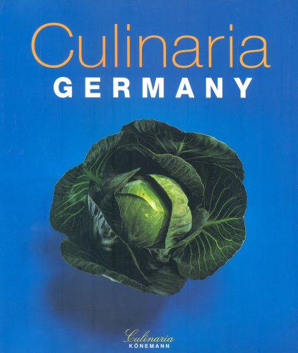Culinaria Germany (English and German Edition)