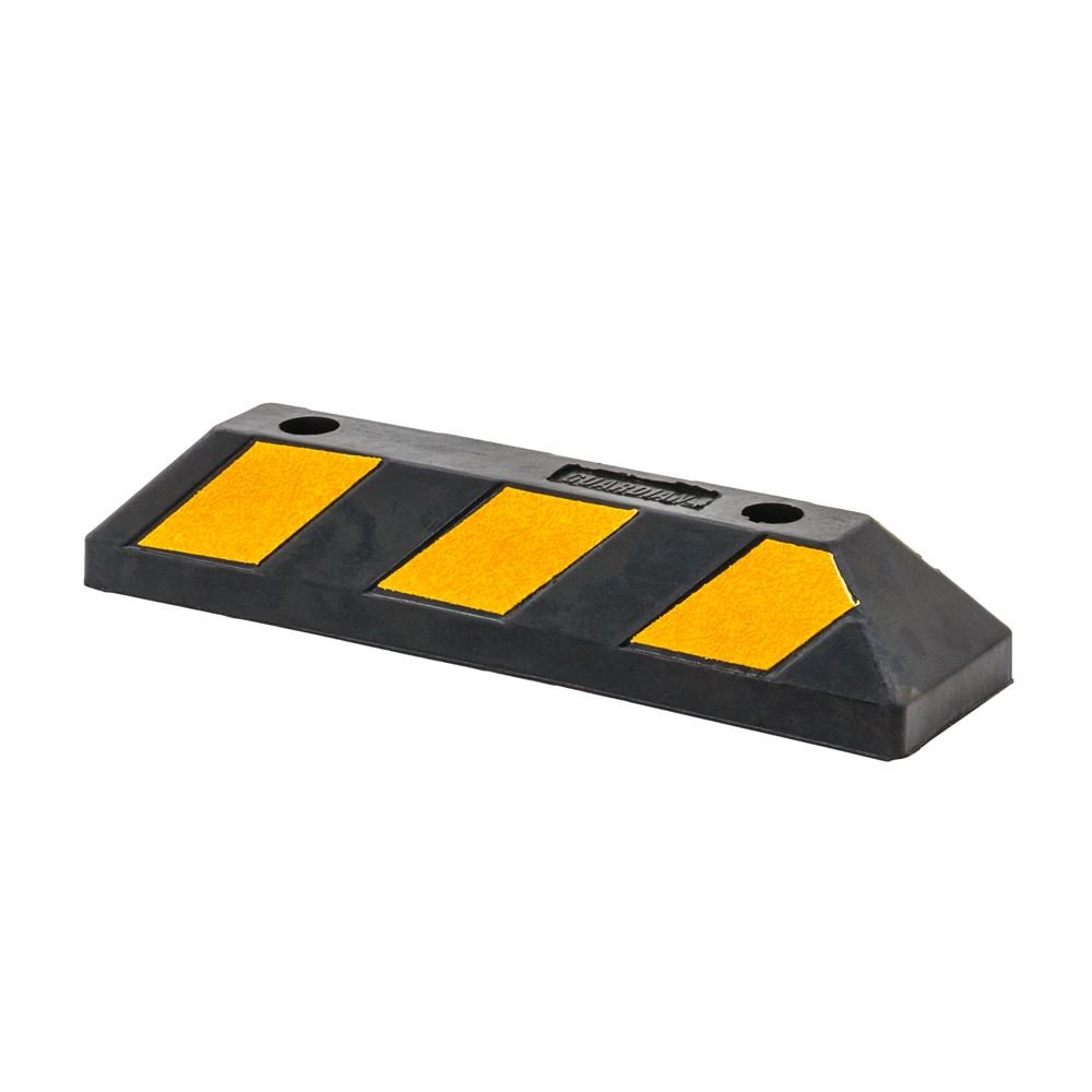 Guardian Industrial Products Rage Powersports DH-PB-4 22' Rubber Parking Block Curb (Garage/Driveway)