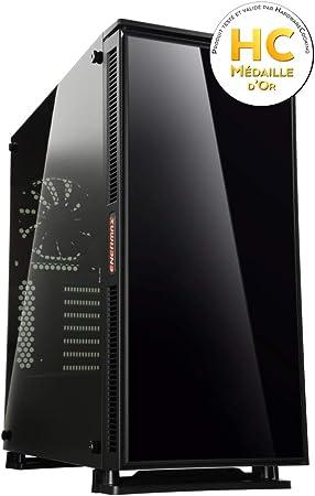 Enermax Equilence Torre Negro - Caja de Ordenador (Torre, PC, SPCC ...