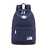 LIZAIDA MENENDEZ Causal Style Lightweight Canvas Fashion Backpacks School Backpacks Travel Backpacks
