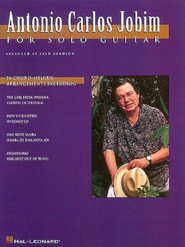 (Antonio Carlos Jobim for Solo Guitar by Antonio Carlos Jobim (Other Contributor) (1-Aug-1996) Paperback)