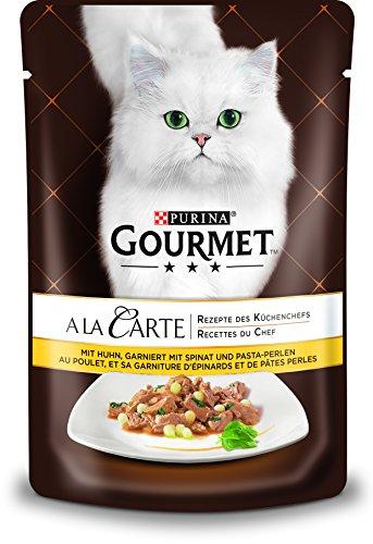 PURINA GOURMET A la Carte Katzenfutter nass, verschiedene Sorten, 24er Pack (24 x 85g)