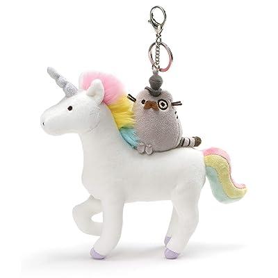 "GUND Pusheen Fancy Unicorn & Kitty Plush Deluxe Keychain Clip, 8.5\"": Toys & Games [5Bkhe1206784]"