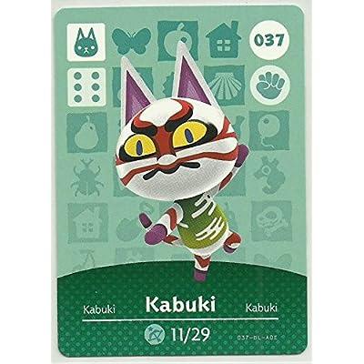 Amiibo Card Animal Crossing Happy Home Design Card Kabuki 037: Everything Else